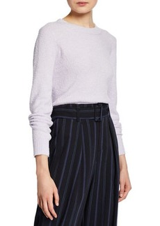 Vince Boxy-Fit Textured Sweater