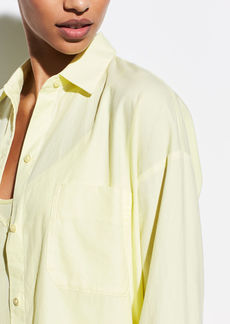 Vince Boxy Long Sleeve Shirt