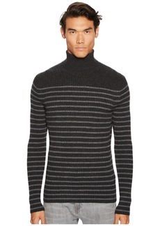 Vince Bretton Stripe Turtleneck