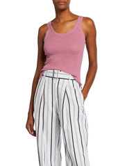 Vince Broomstick Pleated Cotton Tank
