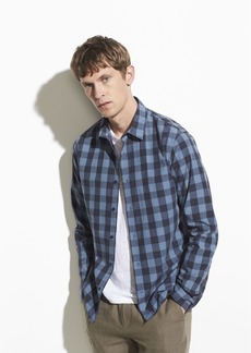 Vince Buffalo Check Long Sleeve