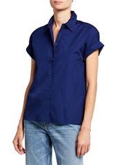 Vince Button-Down Cotton Shirt