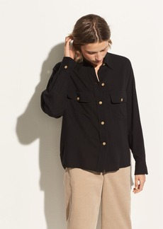 Vince Buttoned Utility Shirt