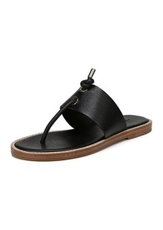 Vince Caelan Leather Flat Sandal