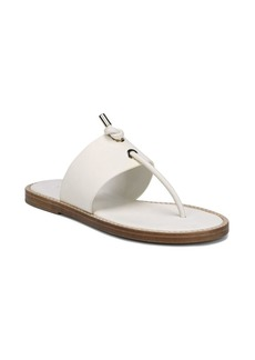 Vince Caelan Leather Thong Sandals