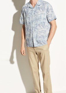 Vince California Print Cabana Short Sleeve