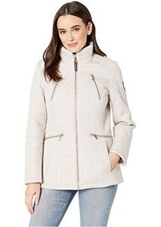 "Vince Camuto 28"" Quilted Jacket V19704"