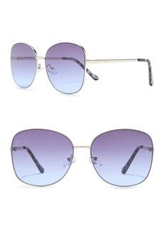 Vince Camuto 60mm Oval Sunglasses