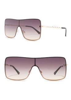 Vince Camuto 62mm Metal Shield Sunglasses