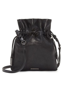 Vince Camuto Aliz Leather Drawstring Crossbody Bag