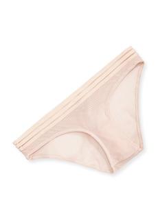 Vince Camuto Ariana Texture Mesh Bikini  Ballet Slipper