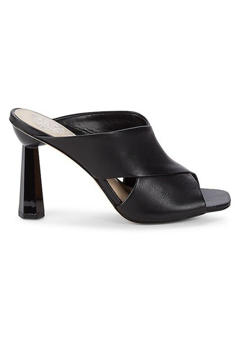 Vince Camuto Averessa Leather Slide Sandals