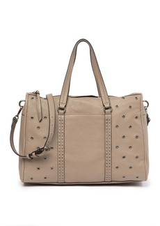 Vince Camuto Avie Grommet Leather Satchel