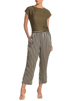 Vince Camuto Bay Stripe Pull-On Pants