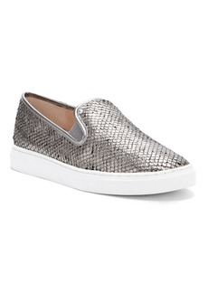 Vince Camuto Becker Leather Slip-On Sneakers