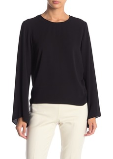 Vince Camuto Bell Sleeve Drawstring Blouse