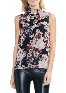 Vince Camuto Blooms Ruffle Back-Tie Blouse