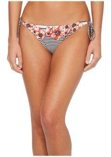 Vince Camuto Blossom Stripes String Bikini Bottom