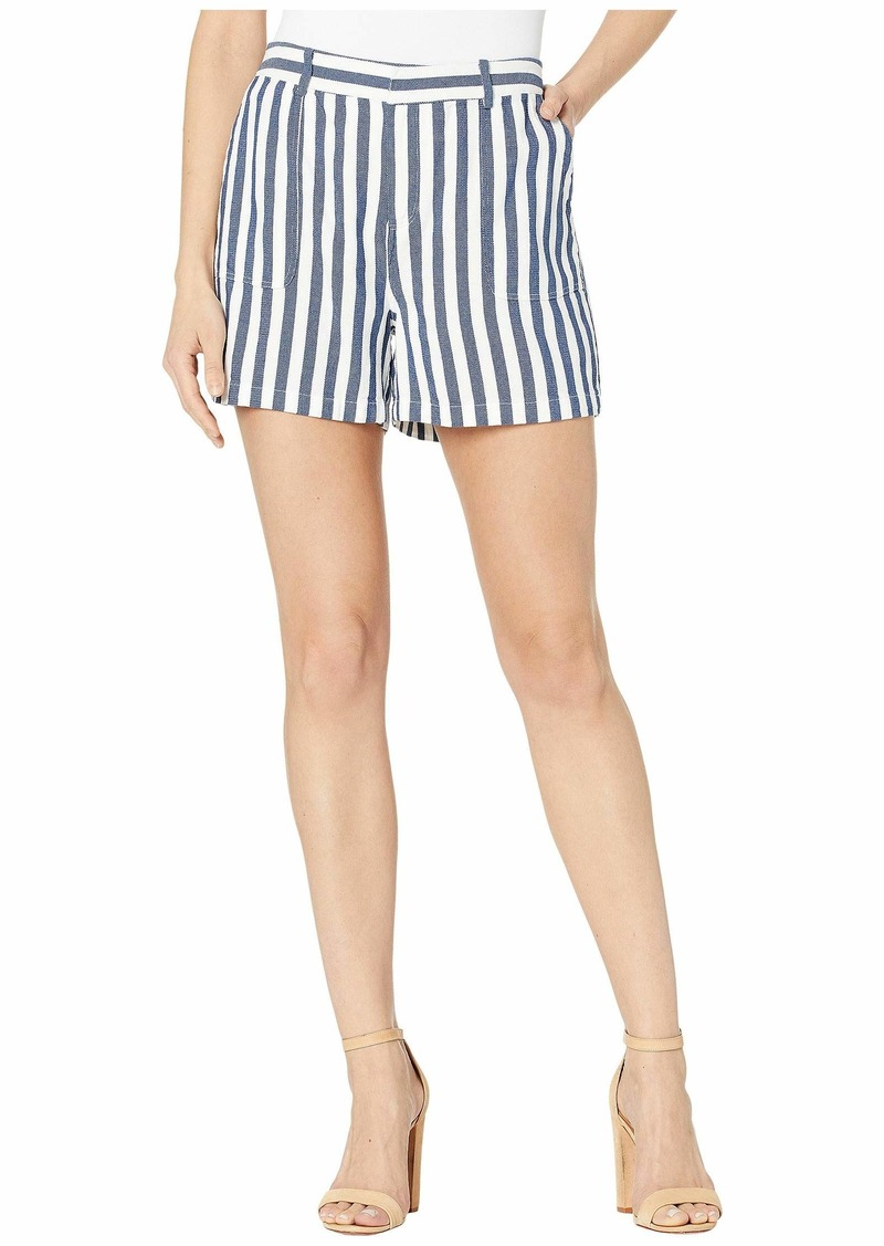Vince Camuto Boardwalk Stripe Two-Pocket Shorts