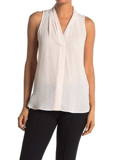 Vince Camuto Cascade Sky Sleeveless Top
