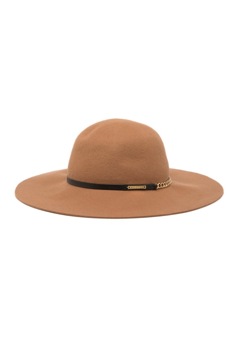 Vince Camuto Chain Band Wool Floppy Hat