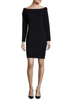 Claret Sweater Dress