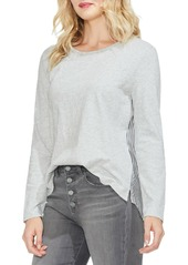 Vince Camuto Classic Back Stripe Top