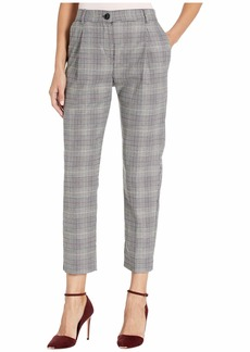Vince Camuto Colorful Glen Plaid Ankle Pants