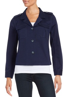Vince Camuto Cotton Chino Jacket