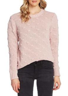 Vince Camuto Cotton Popcorn Sweater
