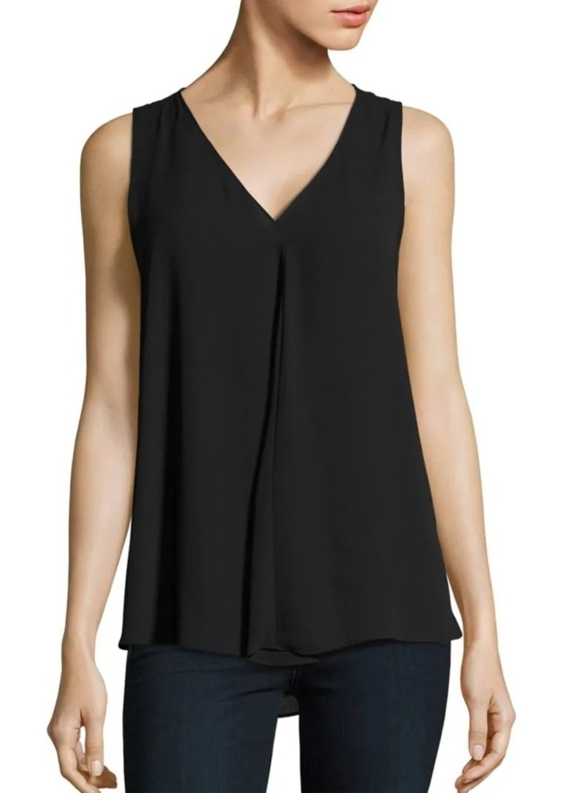 Vince Camuto Sleeveless Pleated Top