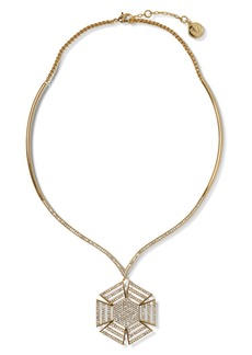 Vince Camuto Crystal Collar Necklace