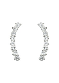 Vince Camuto Cubic Zirconia Thin Stud Earrings