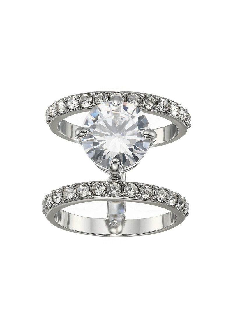 Vince Camuto CZ and Pave Faux Stacked Ring