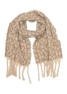 Vince Camuto Ditzy Sequin Leopard Scarf