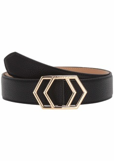 Vince Camuto Double Hexagon BB with Pebble Grain PU