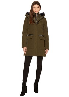 Vince Camuto Down with Faux Fur Detail and Bib N8881