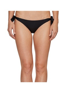 Vince Camuto Draped Solids Side Tie Bikini Bottom