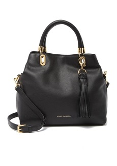 Vince Camuto Elva Studded Leather Satchel