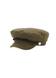Vince Camuto Embellished Military Hat