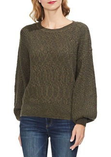Vince Camuto Estate Jewels Textured Balloon Sleeve Sweater