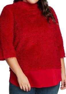 Vince Camuto Eyelash Chenille Sweater