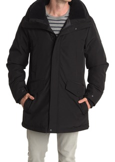 Vince Camuto Faux Fur Lined Hooded Down Parka