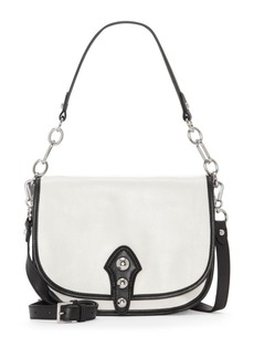 Vince Camuto Flap Leather Shoulder Bag