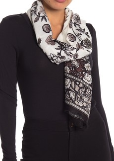Vince Camuto Floral Print Wrap Scarf