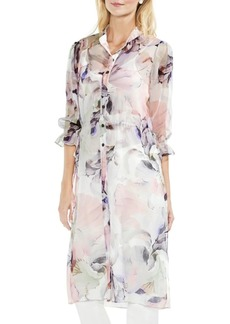 Vince Camuto Floral Side-Tie Tunic