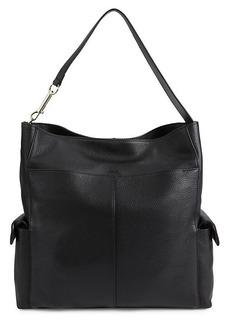 Vince Camuto Garri Leather Hobo Bag