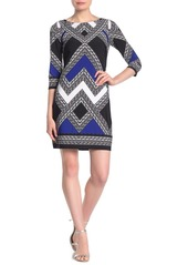 Vince Camuto Geo Printed Sheath Dress