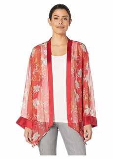 Vince Camuto Graceful Wildflower Kimono Blouse