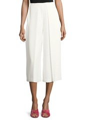 Vince Camuto High-Waist Fold-Over Culottes
